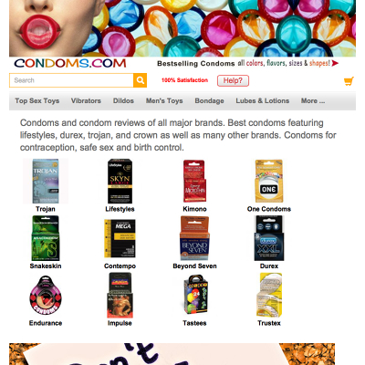 The Best Sex Toy Websites To Find Condoms - Hookupads.com